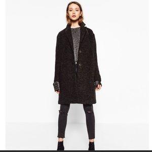 Dark grey coat